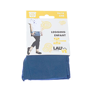 Legging long opaque microfibre