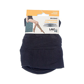 Mi bas compression ultra gainant - réduction jambes lourdes