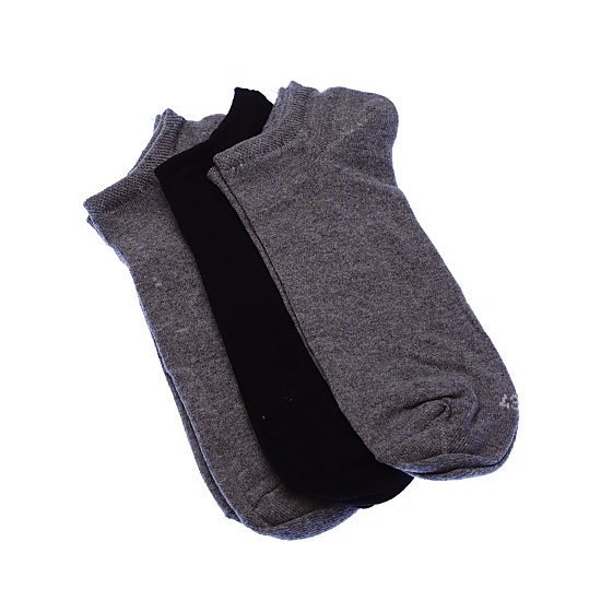 Chaussettes invisibles fines - coton stretch Homme Twinday Vue annexe