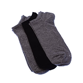 Chaussettes invisibles fines - coton stretch Homme Twinday Vue subsidiaire