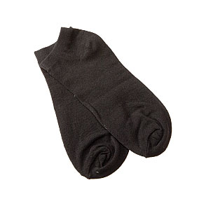Chaussettes invisibles coton stretch Femme Twinday Vue subsidiaire