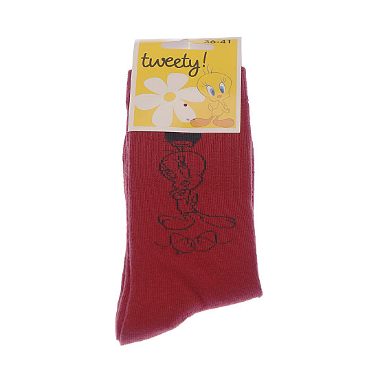 Chaussette motif Titi Femme, Fille - Looney Tunes Tweety Looney Tunes Vue principale