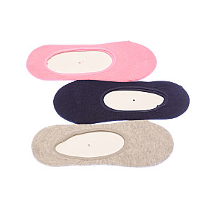 Protège pieds - silicone antiglisse -couture plate Femme BJM Vue subsidiaire