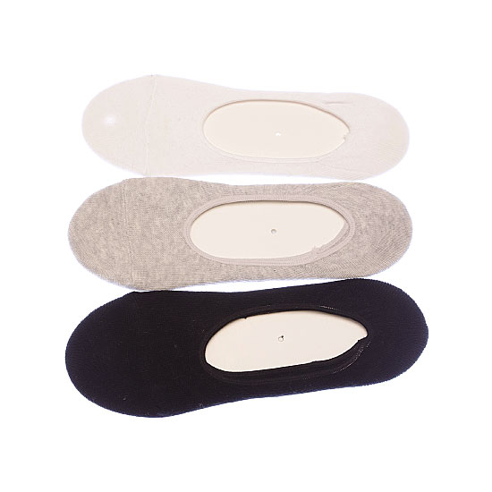 Protège pieds - silicone antiglisse -couture plate Femme BJM Vue annexe