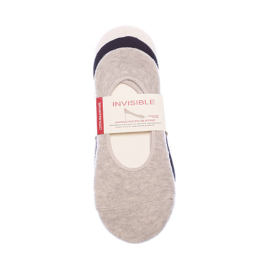 Protège pieds - silicone antiglisse -couture plate Femme BJM Vue auxiliaire