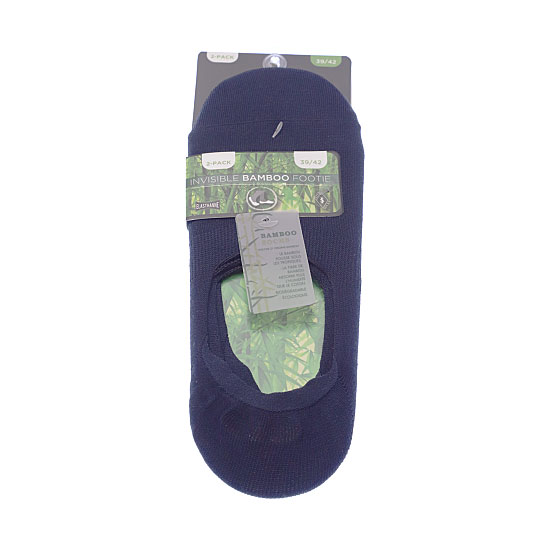 Protège pied bambou - absorbant - doux et confortable Homme - Bamboo footie InterSocks Vue principale