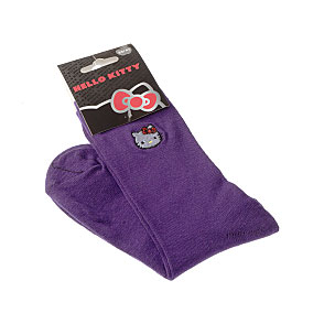 Chaussettes tête Hello Kitty broderie Femme, Fille - Sanrio Hello Kitty Vue accessoire