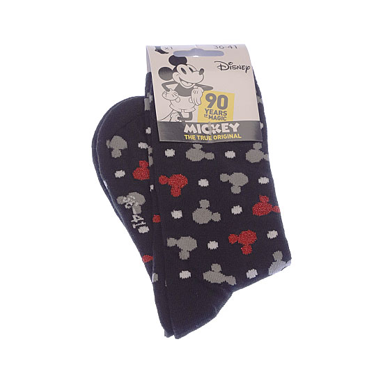 Chaussettes fantaisie Disney - tête Mickey - fil brillant Femme, Fille, Garçon - 90 years of Magic Mickey Mouse Vue additionnelle