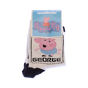Chaussettes Peppa Pig - George dans cadre