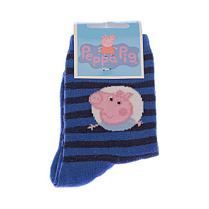 Chaussettes Peppa Pig - George et rayures