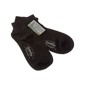 Chaussettes courtes bambou - bord non comprimant - sans couture Femme - Lady Bamboo sanitary InterSocks Vue subsidiaire