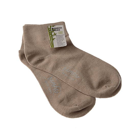 Chaussettes courtes bambou - bord non comprimant - sans couture Femme - Lady Bamboo sanitary InterSocks Vue annexe