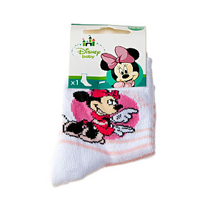 Chaussettes Minnie - rayures