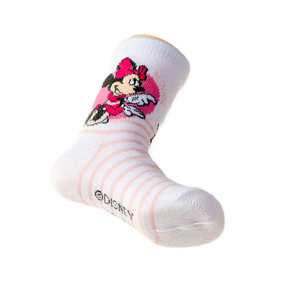 Chaussettes Minnie - rayures Fille, Bébé - Disney Minnie Vue additionnelle