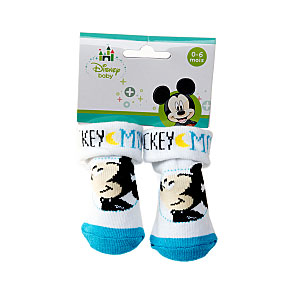 Bottons avec ourlet motif Mickey Mouse