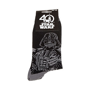 Chaussettes star wars 40 ans - Vador