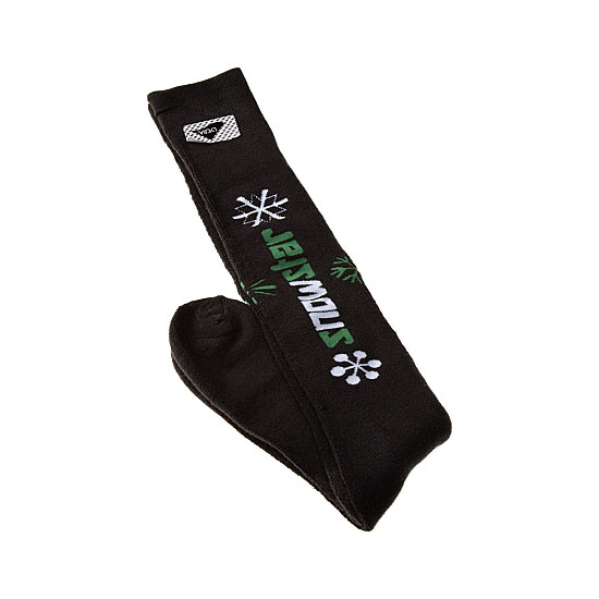 Chaussettes hautes de ski - motif flocon Homme - Snowstar InterSocks Vue additionnelle