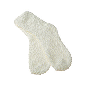 Chaussettes cocooning maille fantaisie - soft Femme - Popcorn InterSocks  Vue subsidiaire