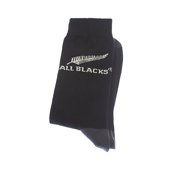 Chaussettes fines motif silver fern Homme - New Zealand Rugby Union All Blacks Vue secondaire