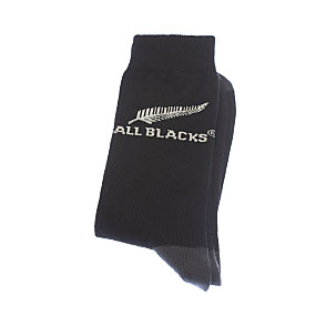 Chaussettes fines motif silver fern Homme - New Zealand Rugby Union All Blacks Vue accessoire