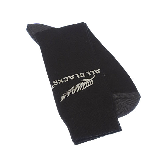 Chaussettes fines motif silver fern Homme - New Zealand Rugby Union All Blacks Vue complémentaire