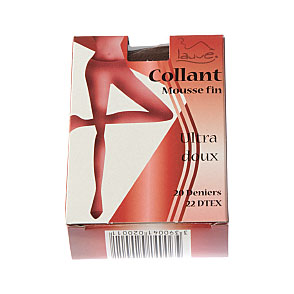 Collant mousse fin ultra doux