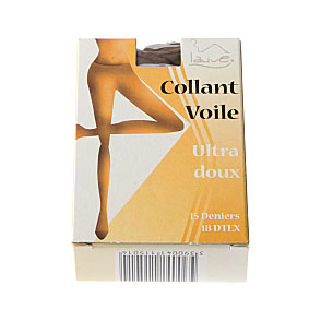 Collant voile ultra doux