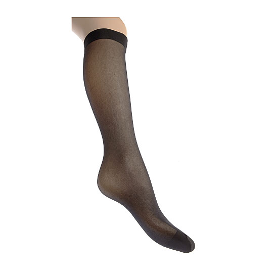 Mi bas mousse - bord confort Femme InterSocks Vue secondaire