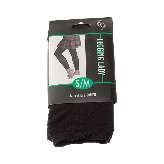 Legging long opaque microfibre Femme InterSocks Vue principale