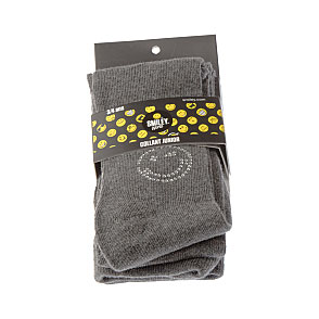 Collant junior coton - smiley brillant en strass