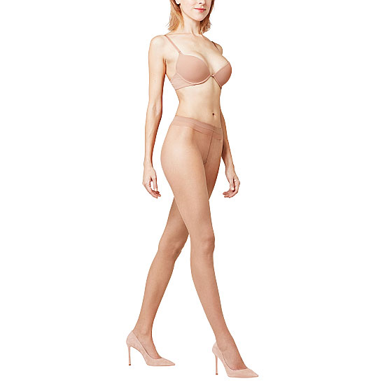 Collant ultra-transparent perfect skin colors Femme - Shelina Falke Vue associée