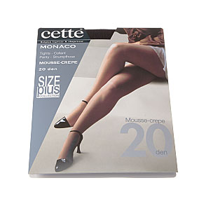 Collant mousse crêpe grande taille - slip super extensible