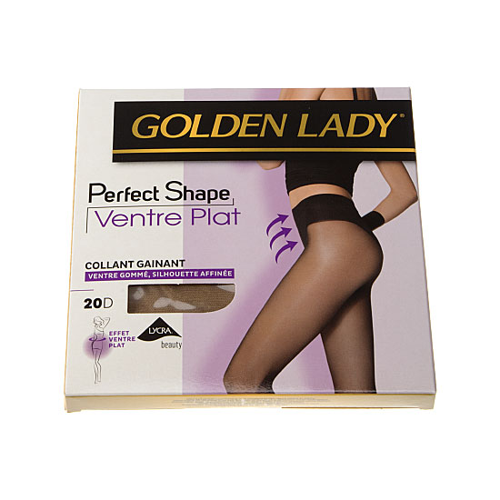 Collants gainants - ventre plat - silhouette affinée Femme - Perfect shape Golden Lady Vue principale