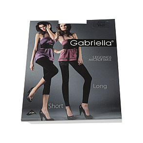 Leggings court opaque - microfibre