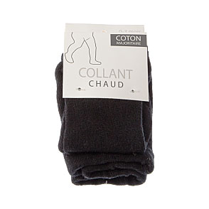 Collant chaud coton