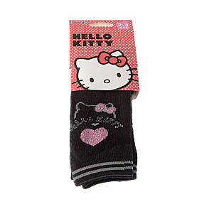 Legging coton - motif hello kitty et cœur