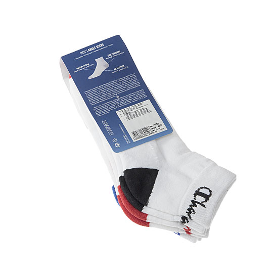 Chaussettes courtes - confort et absorption semelle bouclette - logo talon Femme, Homme, Fille, Garçon - High Performance Ankle Champion Vue secondaire