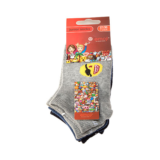 Chaussette invisible motif icone Fille, Garçon - The Iconic Brand Emoji Vue secondaire