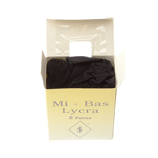 Mi bas lycra  Femme InterSocks Vue secondaire