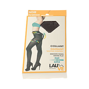 Collant opaque gainant - remonte fesses et ventre plat