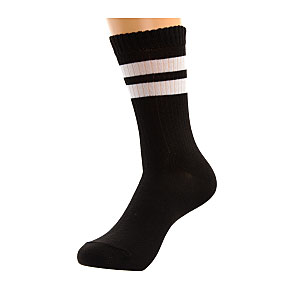 Mini chaussettes rayures sports