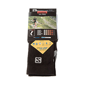 Chaussettes trail - running - antiglissement - protection cheville