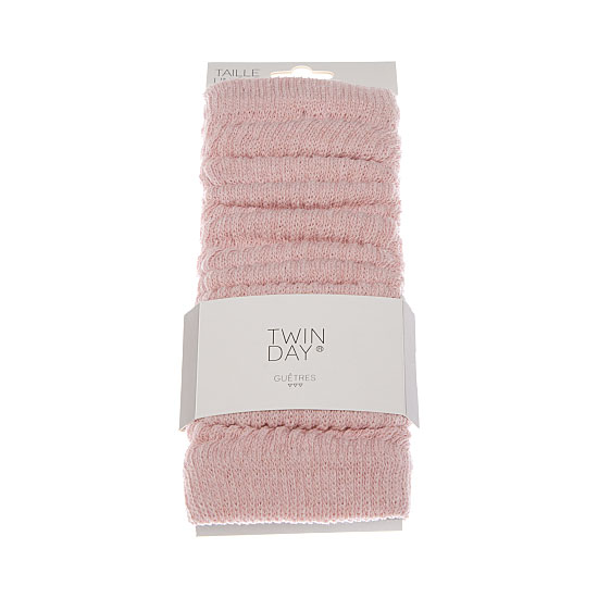 Guêtres maille jersey Femme, Fille Twinday Vue principale
