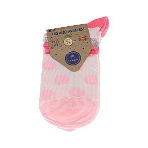 Chaussettes invisibles Cool Socks Lurex à pois - Label Végan