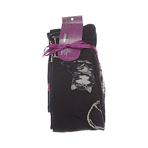 Collants fantaisie motif chien chat