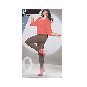 Collant opaque, satiné, lycra, grande taille