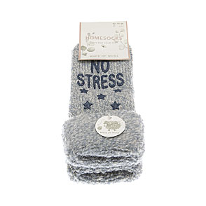 Chaussettes en laine anti-dérapantes - No Stress, just Chill