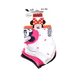 Socquettes Minnie Mouse