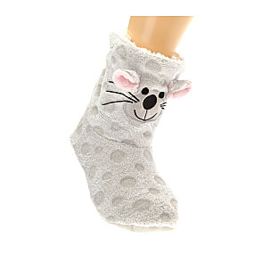 Chaussons animal 3D