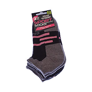 Chaussettes invisibles - extra doux - anti transpirant